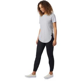 tentree Cascade T-paita Naiset, gargoyle grey micro stripe